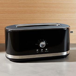 KitchenAid ® Onyx Black 4-Slice Long Slot Toaster