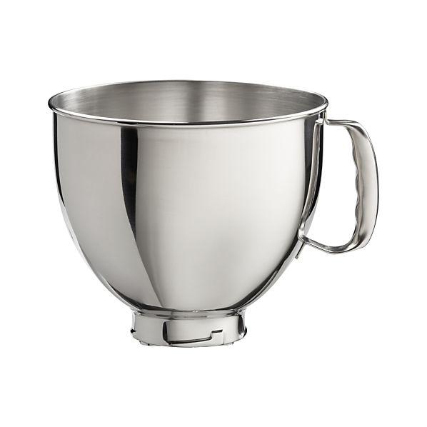 KitchenAid ® Stand Mixer Stainless Mixer Bowl