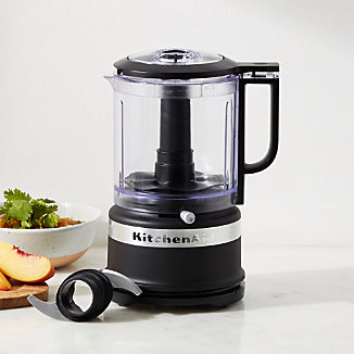KitchenAid ® Matte Black 5-Cup Mini Food Processor