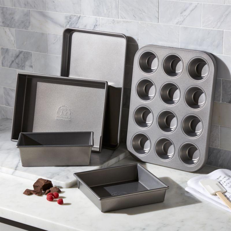 Kitchenaid 5 Piece Bakeware Set Crate And Barrel