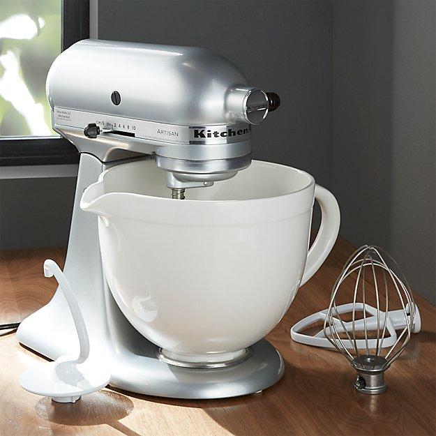 Kitchenaid Ceramic White Bowl In Mixing Bowls Reviews