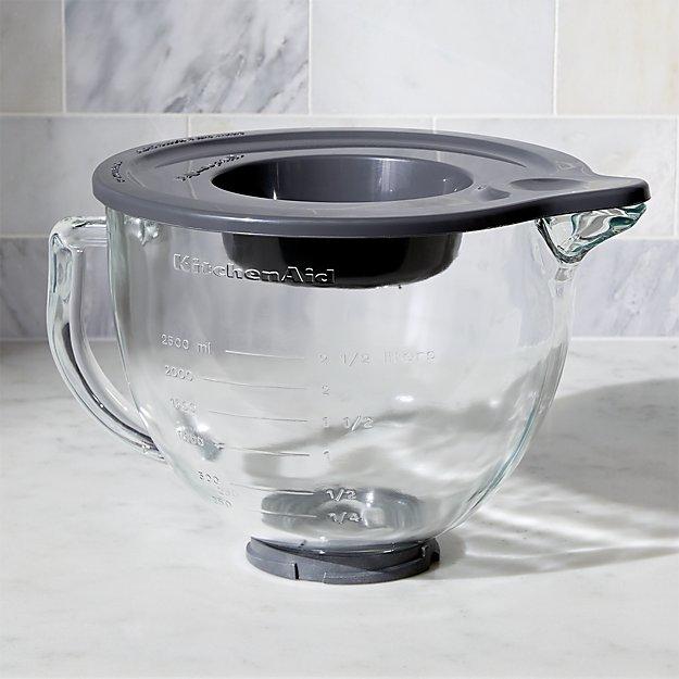 Kitchenaid Classic Glass Bowl kitchenaid ® stand mixer glass mixer bowl | crate and barrel