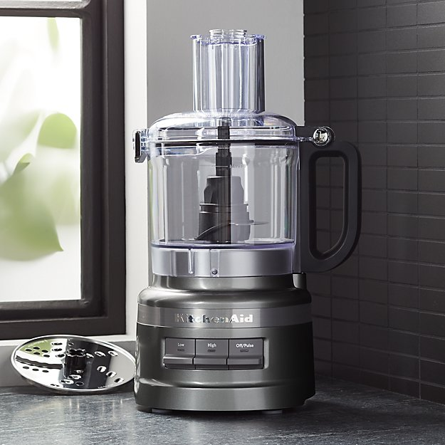KitchenAid ® Contour Silver 7-Cup Food Processor - Image 1 of 3