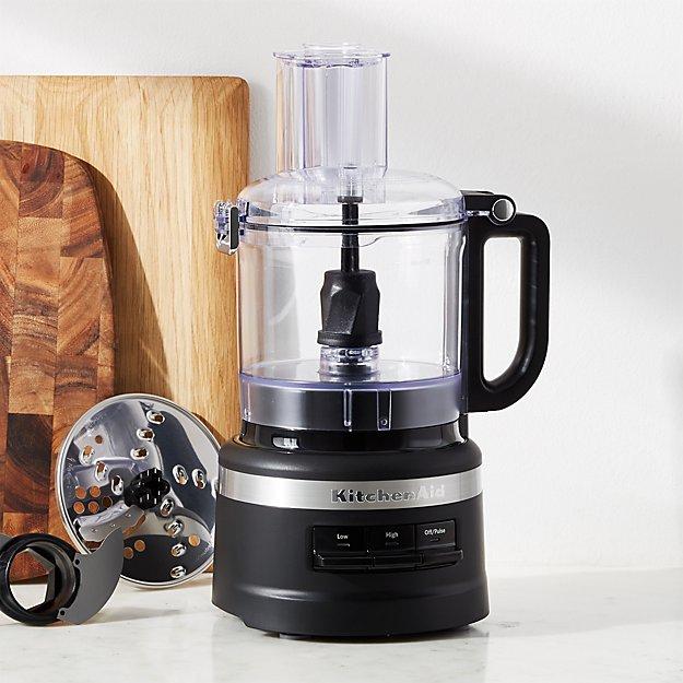KitchenAid ® Matte Black 7-Cup Food Processor - Image 1 of 3