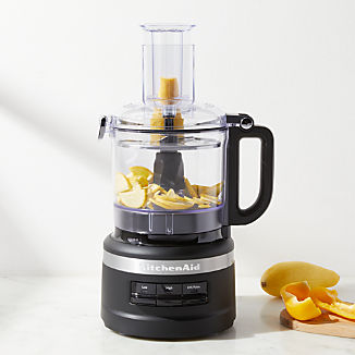 KitchenAid ® Matte Black 7-Cup Food Processor Plus