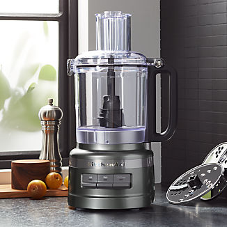 KitchenAid ® Contour Silver 9-Cup Food Processor