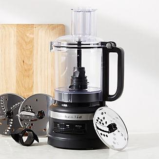 KitchenAid ® Matte Black 9-Cup Food Processor Plus