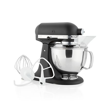 KitchenAid Artisan Cast Iron Black Stand Mixer + Reviews ...