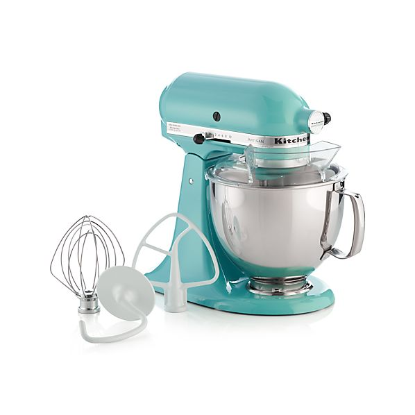 KitchenAidArtisanAquaSkyStandMixerAVS16