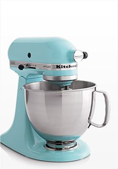 KitchenAid Artisan Aqua Sky Stand Mixer