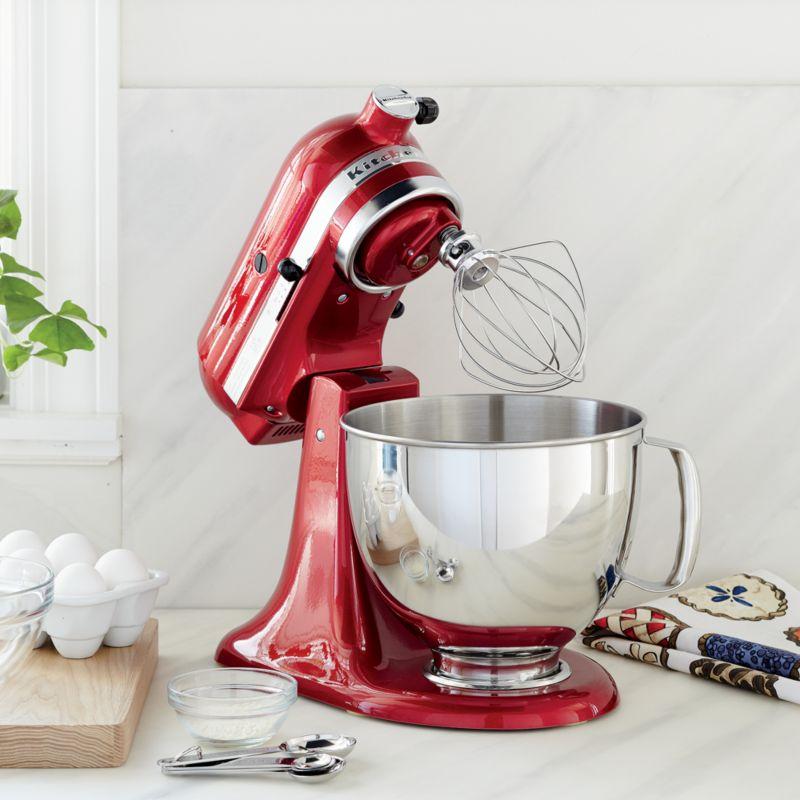Kitchen Island Christmas Decor: KitchenAid KSM150PSER Artisan Empire Red Stand Mix