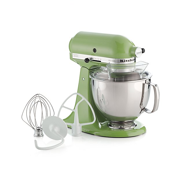 KitchenAid KSM150PSGA Artisan Green Apple Stand Mi + Reviews | Crate And  Barrel
