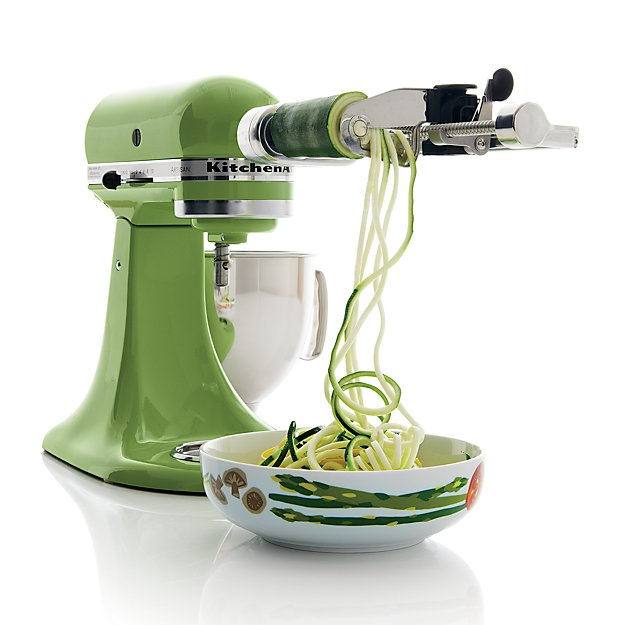 Kitchenaid Spiralizer Attachment Crate And Barrel