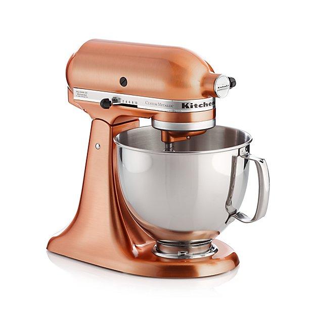 Kitchenaid 174 Copper Metallic Series Stand Mixer Crate