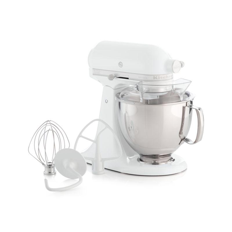 Kitchenaid Artisan White On White Stand Mixer