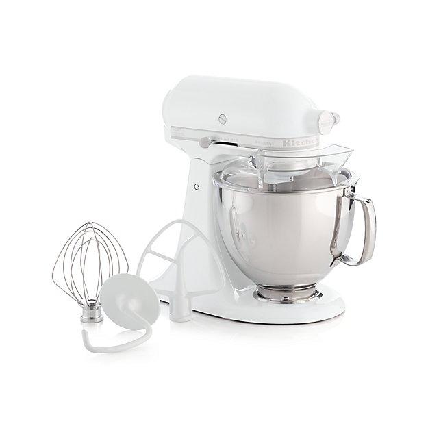 KitchenAid ® Artisan White On White Stand Mixer - Image 1 of 5