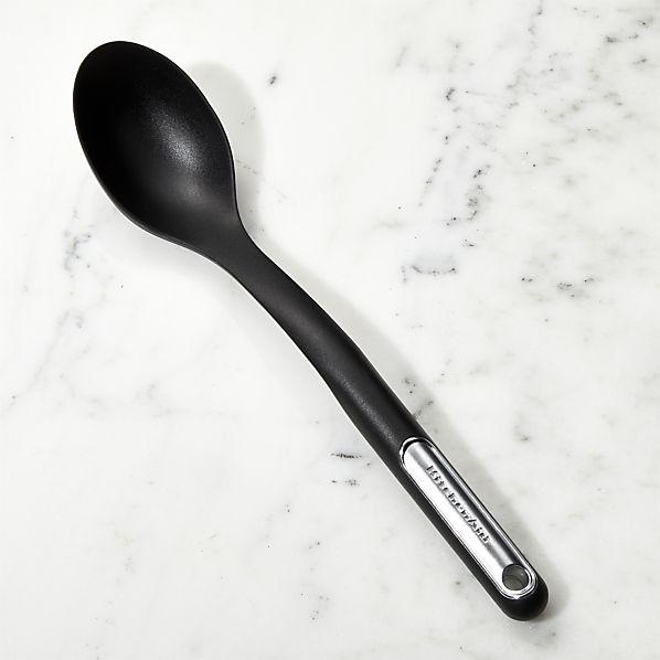Kitchenaid Black Silicone Spoon