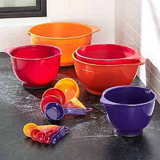 KitchenAid ® Flame Bowl, Measuring Cups/Spoons Set