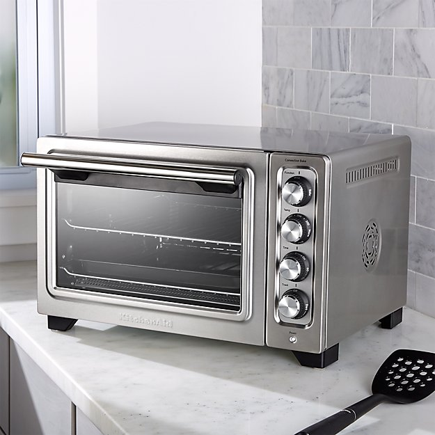 Countertop Convection Oven Kitchenaid : KitchenAid ? Compact Convection Toaster Oven Crate and Barrel