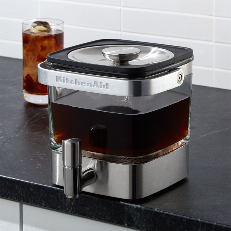 Kitchenaid Coffee Maker New : KitchenAid Cold Brew Coffee Maker Crate and Barrel