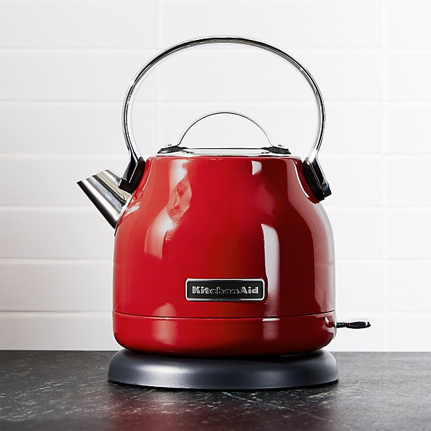 Kitchenaid 174 Red Electric Kettle Crate And Barrel