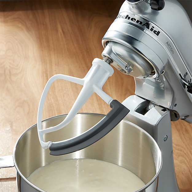 Kitchenaid Stand Mixer Flex Edge Beater Blade Reviews Crate And
