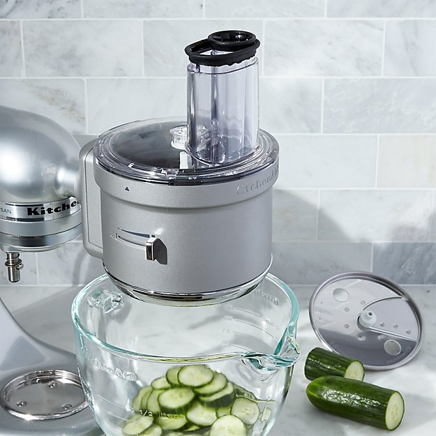 Kitchenaid 174 Food Processor Attachment Crate And Barrel