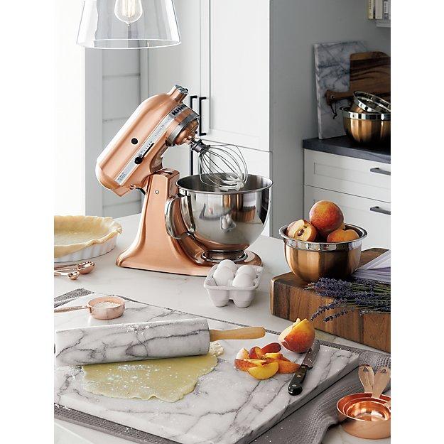 Functional Copper Kids Kitchen Set: Copper Measuring Cups, Set Of 4 In Baking Utensils