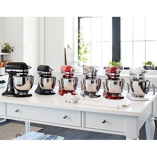 Kitchenaid Artisan Matte White Mini Mixer With Flex Edge