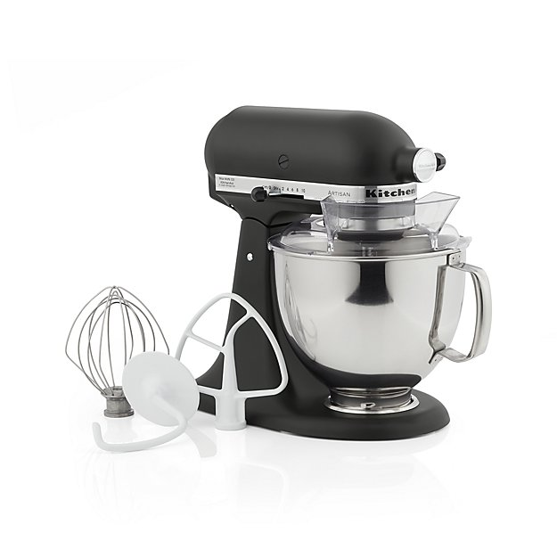 KitchenAid ® Artisan Matte Black Stand Mixer - Image 1 of 5