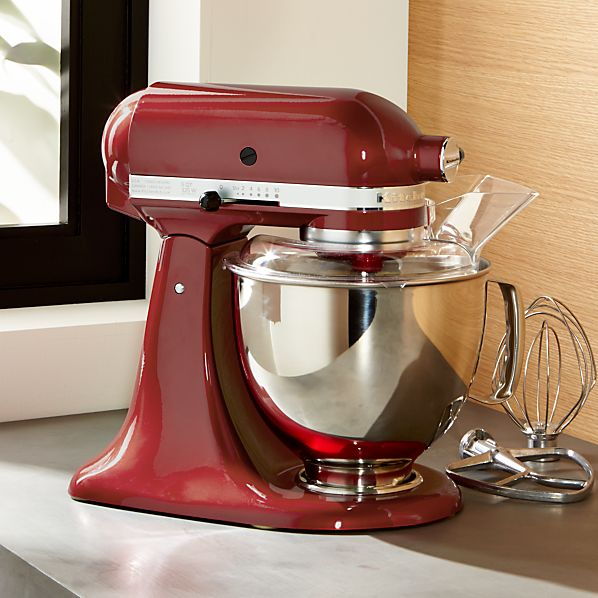 KitchenAidMxrWSSBowlRedSHF16