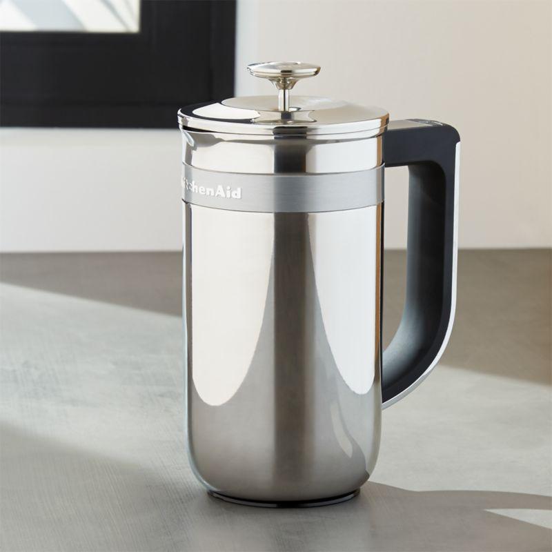 KitchenAid Precision Press Coffee Maker Crate and Barrel