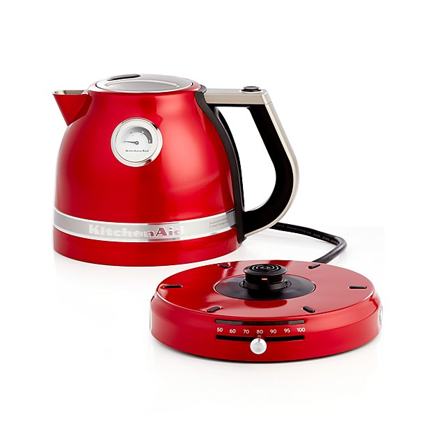 Red kitchenaid pro line electric kettle crate and barrel for Houzz pro account cost