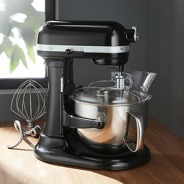 Kitchenaid Pro 600 Onyx Black Stand Mixer Reviews Crate And Barrel