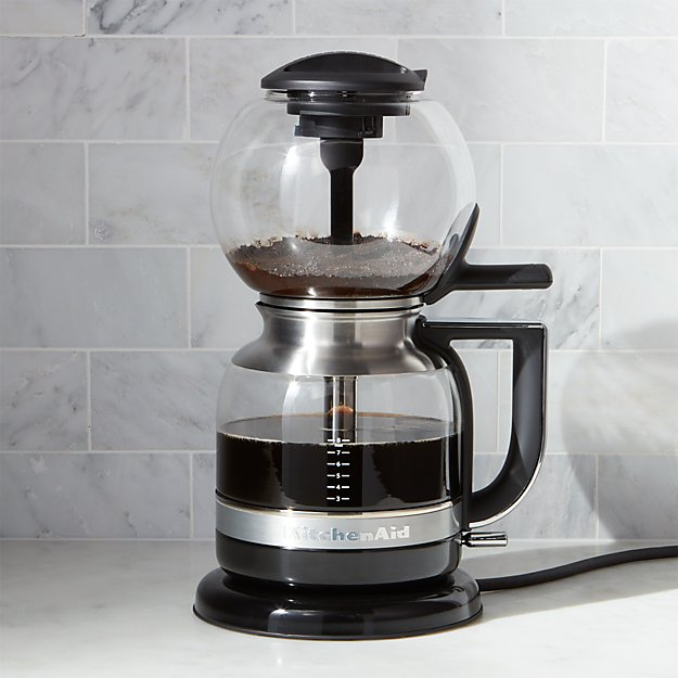 Kitchenaid Siphon Vacuum Coffee Maker Reviews Crate And Barrel
