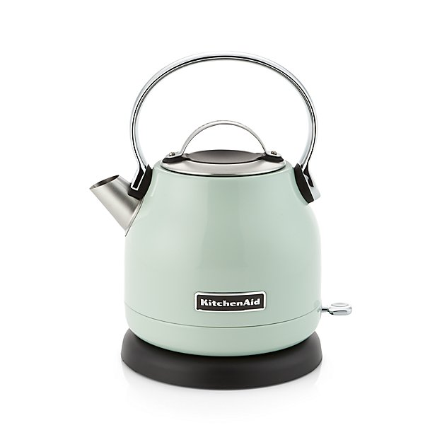 Kitchenaid Pistachio Electric Kettle Reviews Crate And Barrel