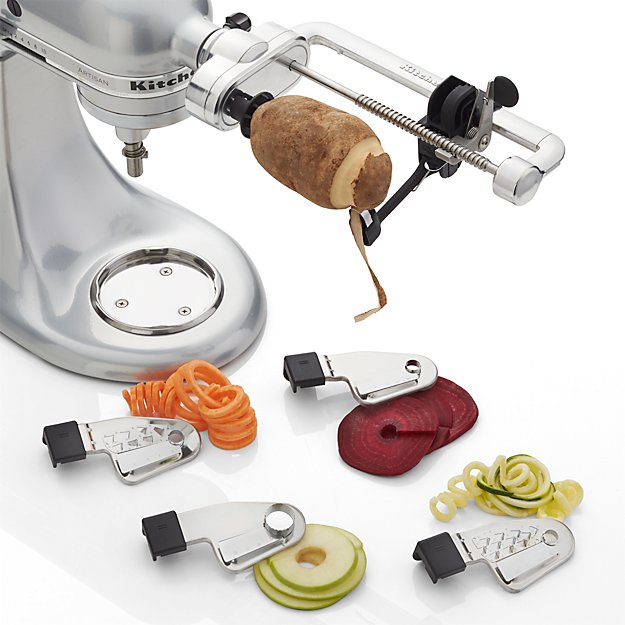 Kitchenaid Spiralizer Attachment Reviews Crate And Barrel