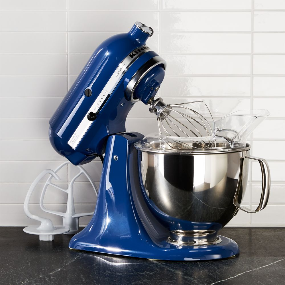 KitchenAid ® Artisan Blue Willow Stand Mixer - Crate and Barrel