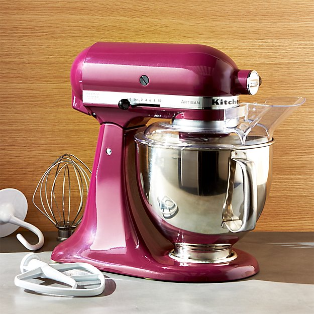Mix, knead, and whip up an impressive array of recipes with this versatile KitchenAid stand mixer. With its tilt-head design, powerful motor, and a variety of attachments--including the Fresh Prep shredder and slicer--this countertop companion quickly does all of the heavy work while you receive the compliments.