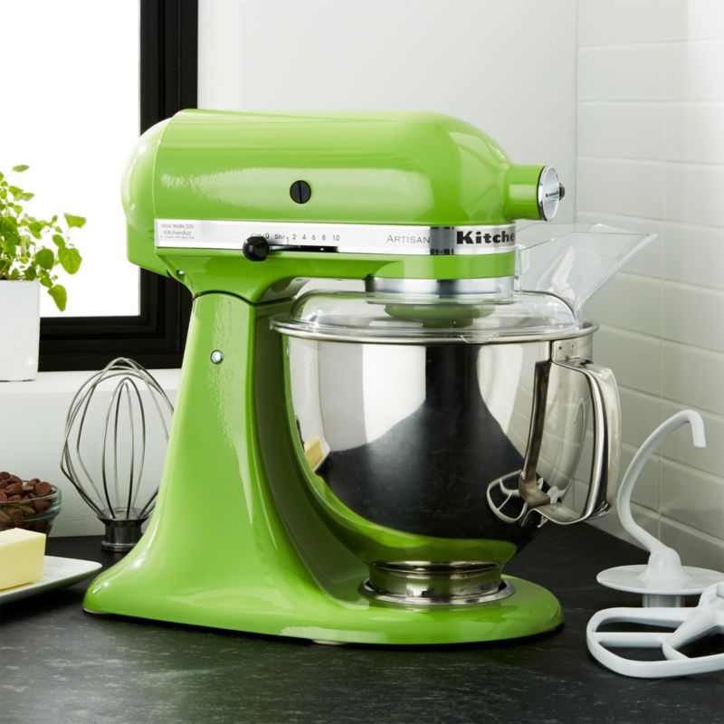 KitchenAid Artisan Cast Iron Black Stand Mixer + Reviews | Crate And Barrel