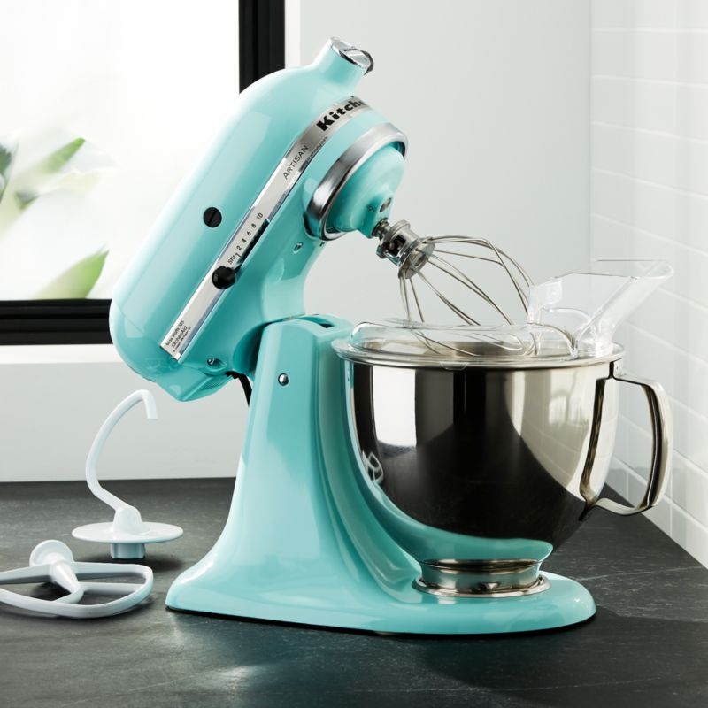 KitchenAid KSM150PSIC Artisan Ice Blue Stand Mixer + Reviews | Crate And  Barrel