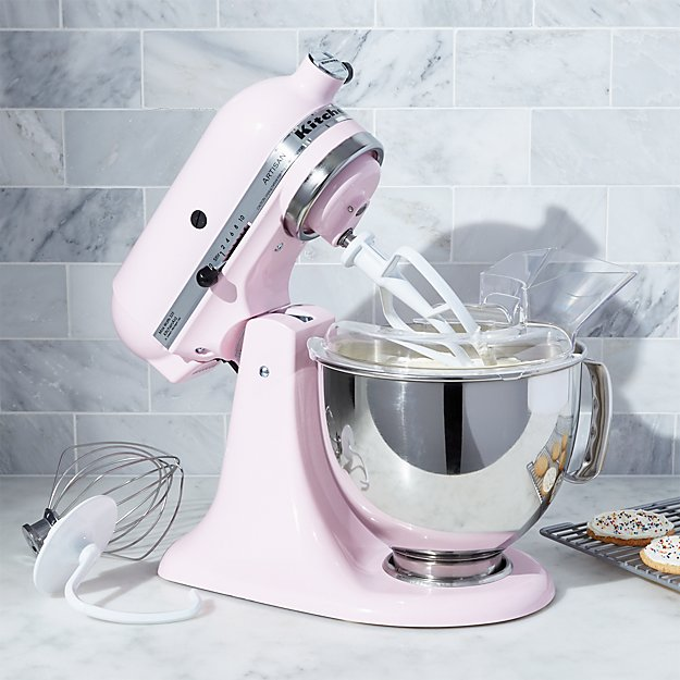 Kitchenaid Ksm150pspk Artisan Pink Stand Mixer Crate And