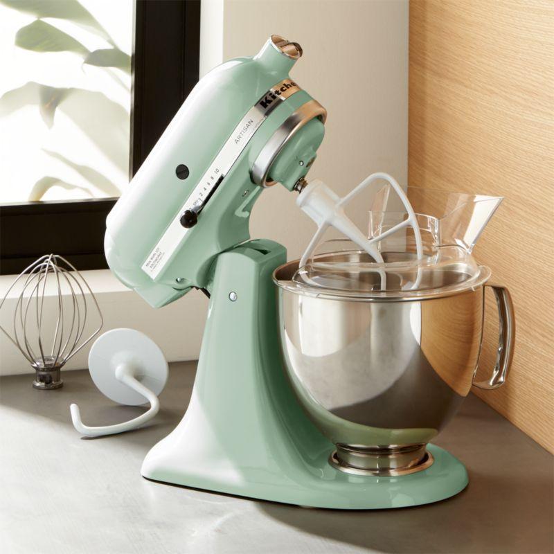 Ordinaire KitchenAid KSM150PSPT Artisan Pistachio Stand Mixe + Reviews | Crate And  Barrel