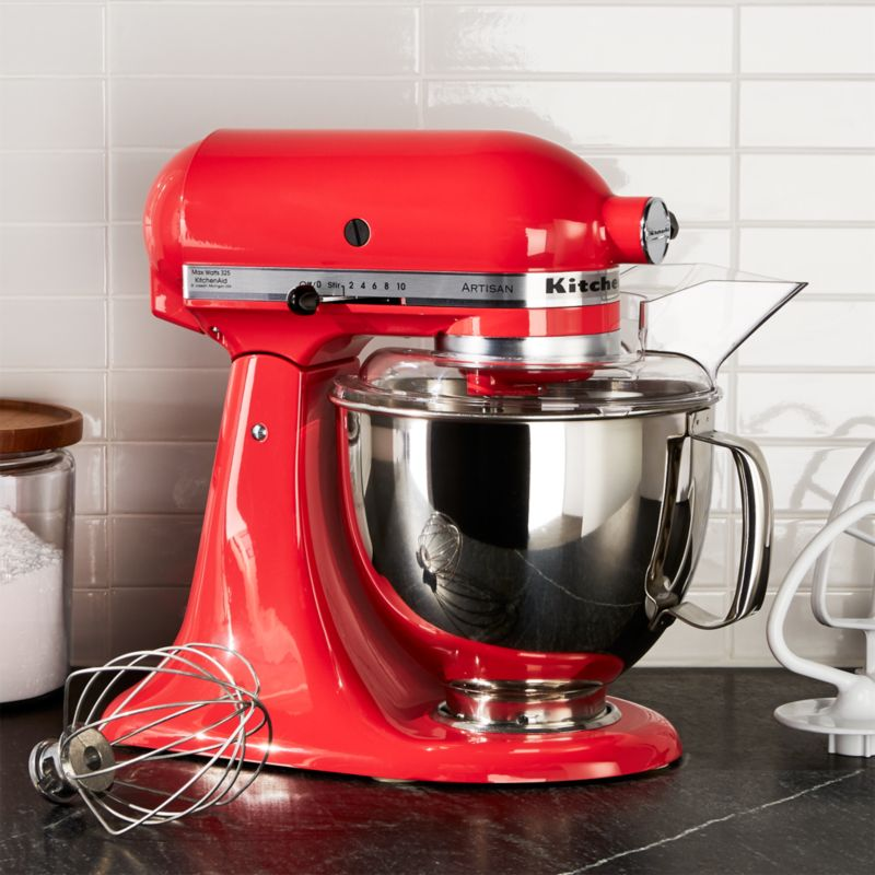 kitchenaid artisan steel blue stand mixer reviews crate and barrel