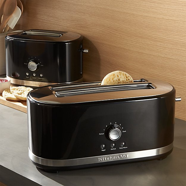 Black Kitchenaid Toaster: KitchenAid ® Onyx Black Toasters