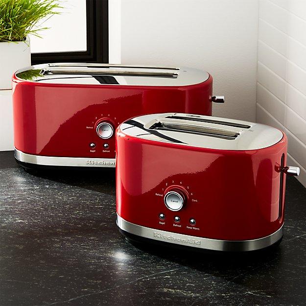 KitchenAid Red Toasters