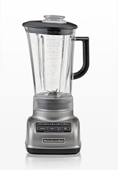 KitchenAid 5-Speed Contour Silver Diamond Vortex Blender