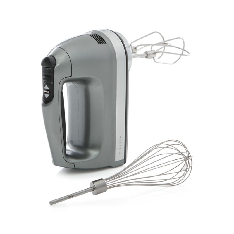 Kitchenaid Silver 7 Speed Hand Mixer