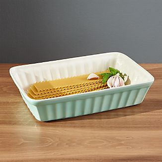 Kitchenette Pistachio Green Baking Dish