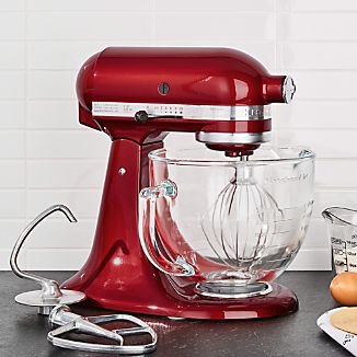 KitchenAid ® Artisan ® Design Series Candy Apple Red Stand Mixer